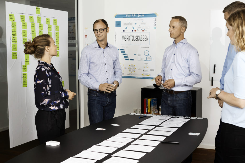 Agile project management - plan a projects