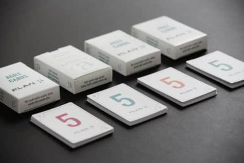 Planning poker kort - Plan A Projects